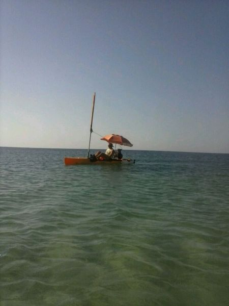canoa a vela